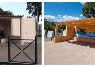 Graffiti Street art     Décoration d'un abribus pour le Tour de France 2013 en collaboration avec N.Scauri de l'Agence artistique RioFluo
