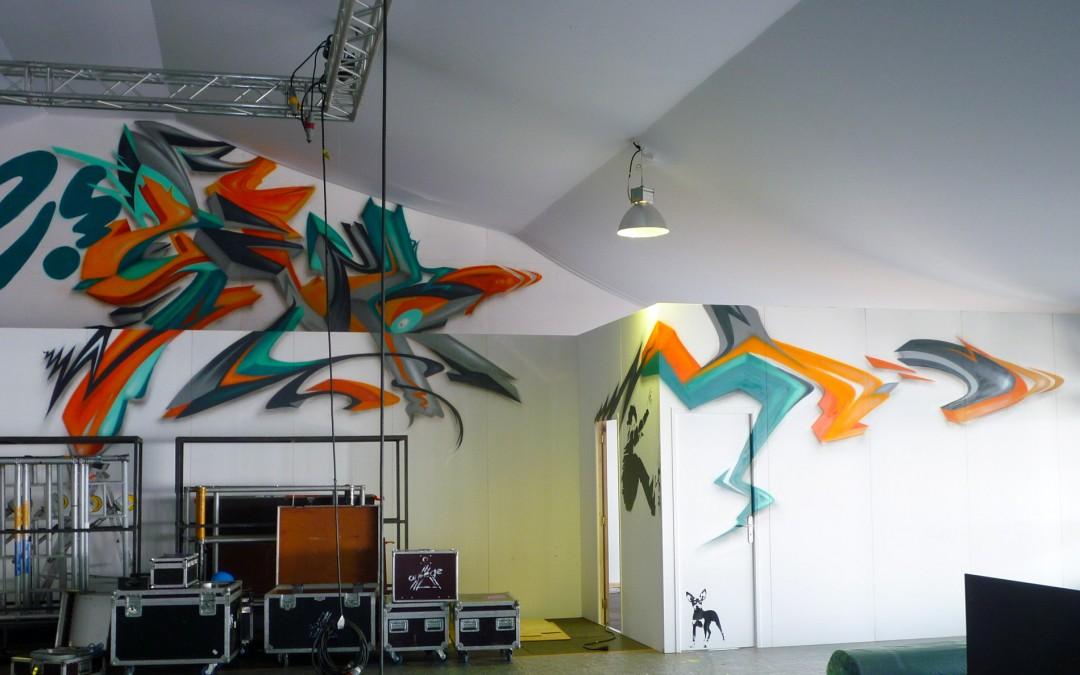 Décorations graffiti