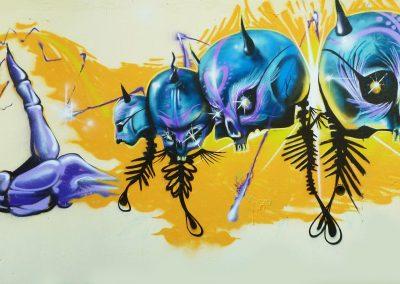 Graffiti Street art     Zert B2C- Skio GF B2C- Fazer  B2C  2010 Antibes (06)