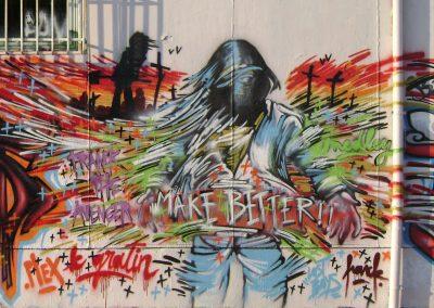 Graffiti Street art       Zert B2C Franck Pellegrino Zert  2009 Cannes (06)