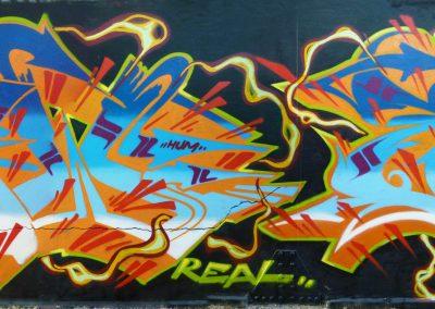 Graffiti Street art     Spew BDF AZM - Zert B2C   2010 Grasse (06)