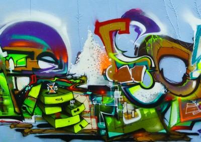 Graffiti Street art        Pablar Escabo : Fans SWC GF Rems GF Zert 711   2013 Grasse (06)