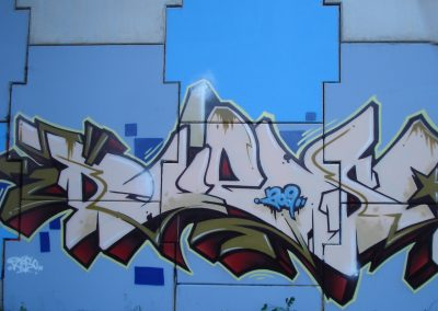 Graffiti Street art     Mash x2 - Djeso - Zert - Pome  Moulin Crew  2009 Nancy (54)