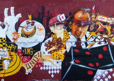 Graffiti Street art      711 Family : Check - Otis - Seok - Asty - Syam - Jos2 - Sea - Teas - Zert   2010 La Seyne sur mer  (83)