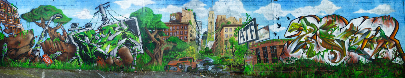 Gaffiti Street art        Reox SPM - Neya - Tekas TKF - Zert 711   2011 Vallauris (06)