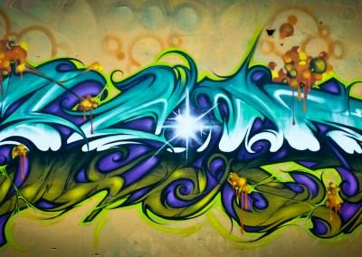 Graffiti Street art   Zert en 2015 à Annecy (74)