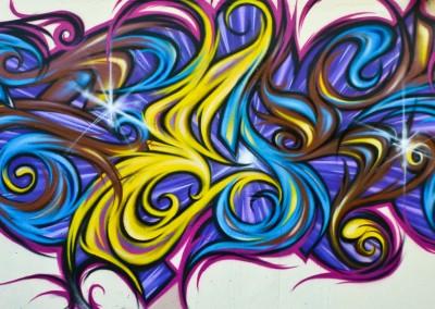 Graffiti Street art     Zert en 2010 à Antibes (06)