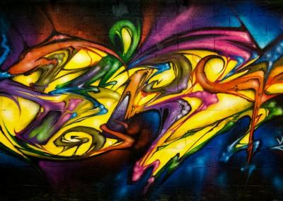 Graffiti Street art    Zert en 2013 à Nice (06)