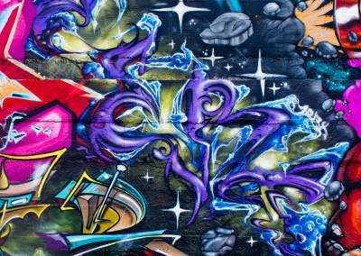 Graffiti Street art    Zert en 2013 à Toulon (83)