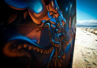Graffiti Street art    Zert en 2011 à la Ciotat (13)