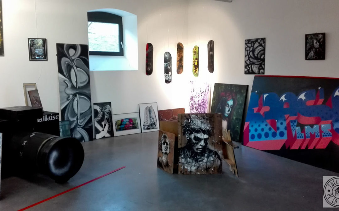Exposition à la ferme de Bressieux 73 – Collectif de la Maise