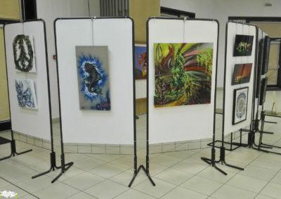 Exposition au forum du lac à Thyez en Haute-Savoie (73) Graffiti 2017