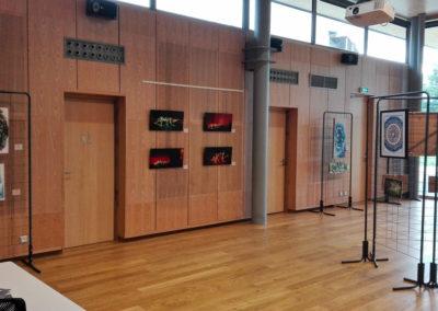 Exposition à la médiathèque de Thyez (73) en Haute-Savoie 2018